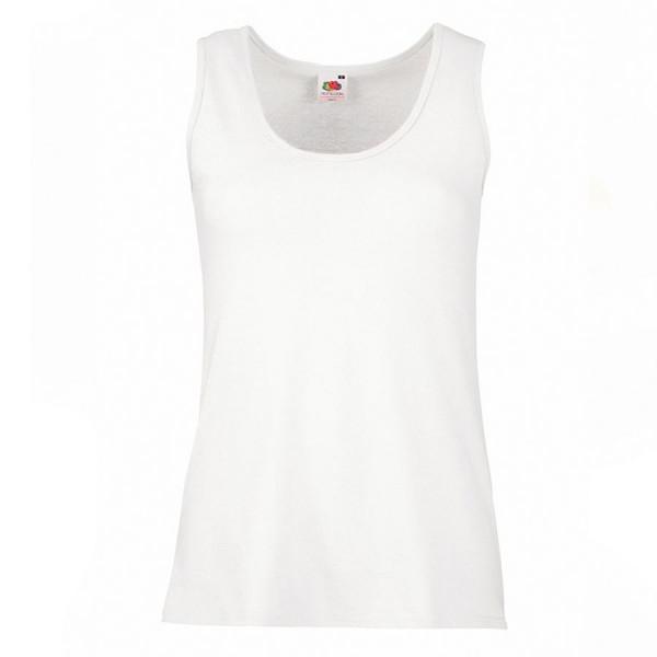 """Майка женская """"Lady-Fit VaMueweight Vest"""", белый_M, 100% хлопок, 160 г/м2"""