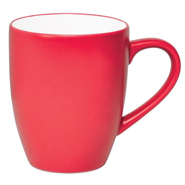 """Кружка """"Milar"""", красный, 300мл, фарфор"""