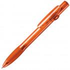 ALLEGRA LX, ручка шариковая с грипом, прозрачный оранжевый, пластик